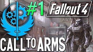 Fallout 4 Brotherhood of Steel #1 - Call to Arms quest