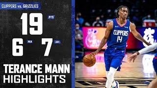 Terance Mann (19 PTS, 7 AST, 6 REB) Posts Complete Game vs. Memphis Grizzlies