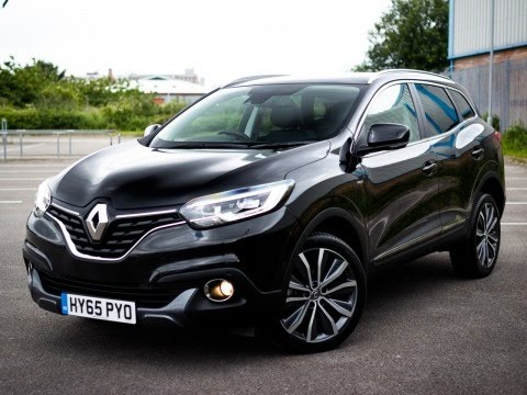 2015 65 renault kadjar 1 6 dci signature nav 5dr 4wd in black youtube. Black Bedroom Furniture Sets. Home Design Ideas