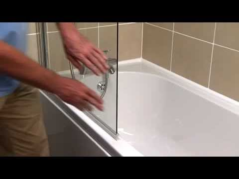 How To Replace An Over Bath Screen Seal Youtube