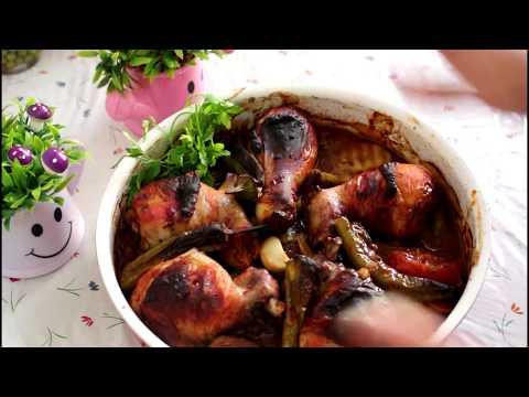 اسهل طريقة عمل تبسي الدجاج بالبطاطاعلى طريقتي مطبخ-تغاريد
