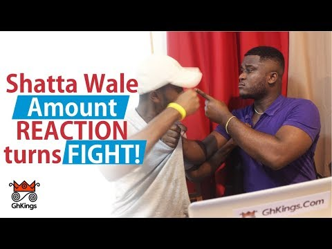 Shatta Wale - Amount (OFFICIAL VIDEO) REACTION – FIGHT erupts!