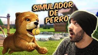 ¿QUÉ HACE UN PERRO CUANDO NO ESTÁS EN CASA? - Dog Simulator | iTownGamePlay