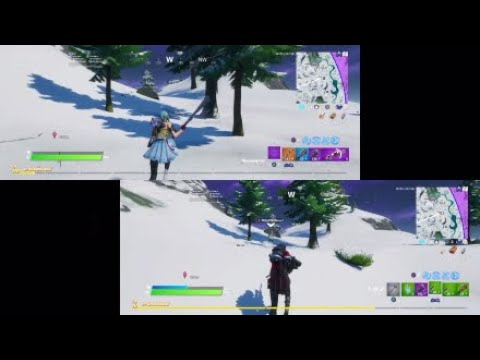 Insane!!!!!! Fortnite Duo Victory With New Splitscreen Update Loved It!!!!!!!!