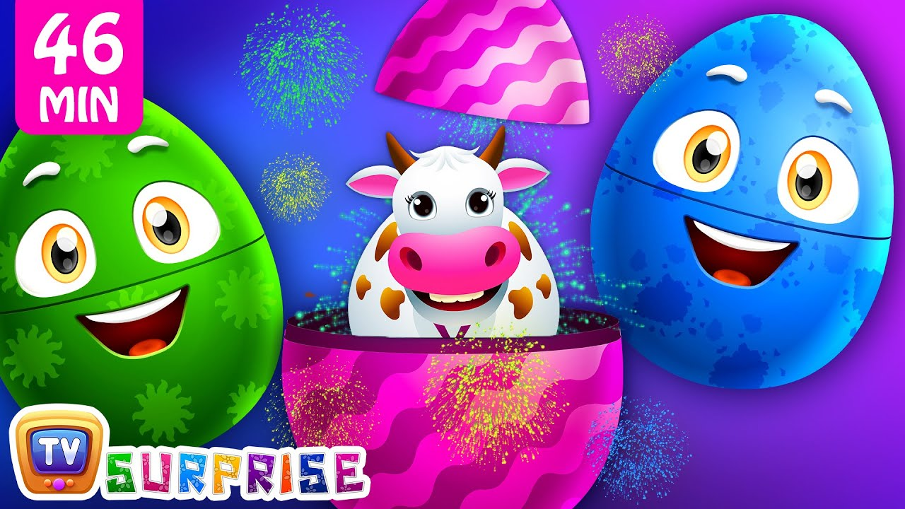 Download Old Macdonald Had A Farm + More ChuChu TV Surprise Eggs Learning Videos SUPER COLLECTION 1