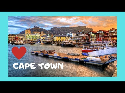 CAPE TOWN, the SHOPS of the beautiful WATERFRONT, South Africa
