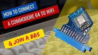How to set up a Commodore WiFi Modem and login to a BBS