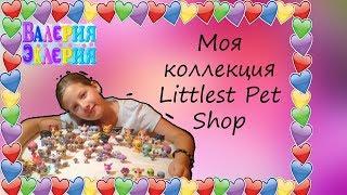 Мои любимые игрушки-животные Littlest pet shop