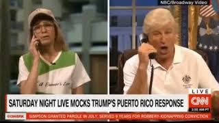 SNL is back mocking President Trump