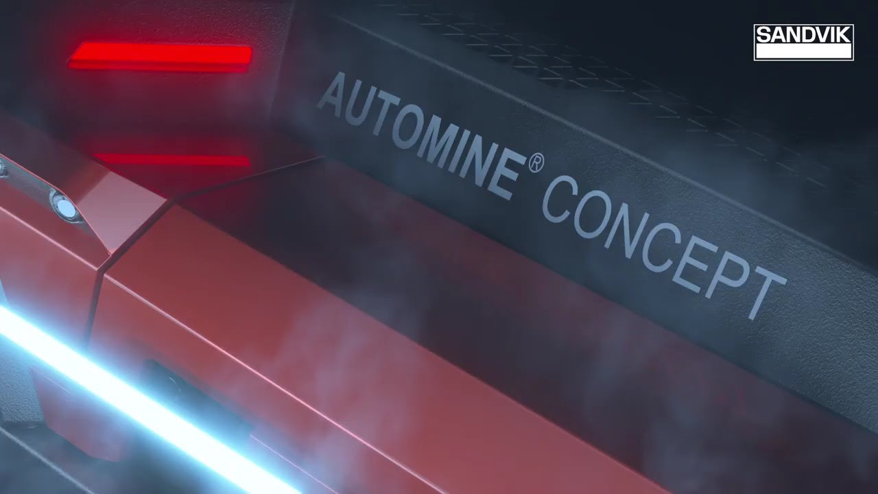 AutoMine® Concept – The Next Generation of Autonomous Mining | Sandvik Mining and Rock Technology