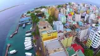 Male' Maldives Aerial footage