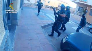 Guardia Civil desarticula grupo dedicado a narcotráfico en Murcia
