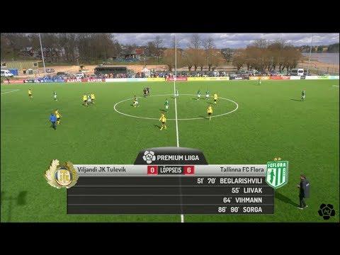 10. voor 2018: Viljandi JK Tulevik - Tallinna FC Flora 0:6 (0:0)