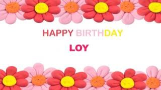 Loy   Birthday Postcards & Postales - Happy Birthday