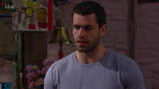 Debbie Overhears Andy And Zak Talking About Custody - Emmerdale