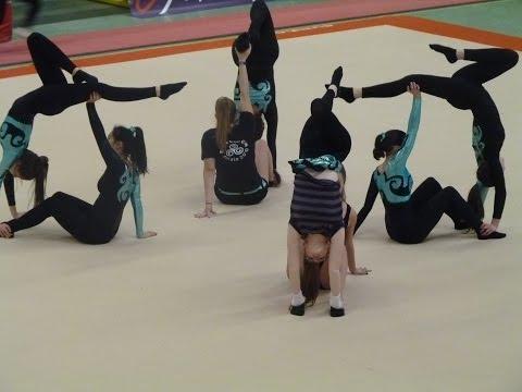 Team gym Détente Féminine - A.G.Plérin