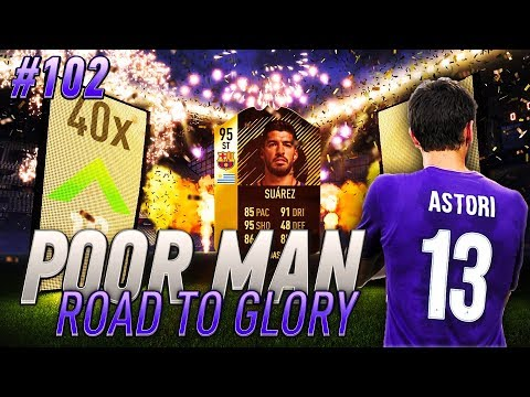 TRIBUTE TO ASTORI and RATINGS REFRESH PACK OPENING!!! Poor Man RTG #102 - FIFA 18 Ultimate Team