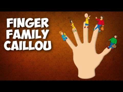 DADDY FINGER FAMILY SONG Caillou Nursery Rhymes for Children Babies and Toddlers thumbnail