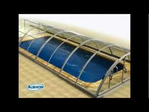 pool express schwimm berdachung klasik a 3d video youtube. Black Bedroom Furniture Sets. Home Design Ideas