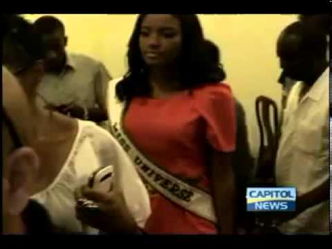 Reigning Miss Universe, Leila Lopes of Angola in Guyana to observe Miss Guyana Universe activities