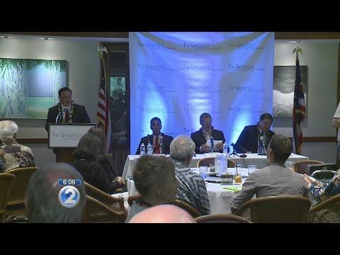 Gubernatorial candidates participate in forum, minus Ige