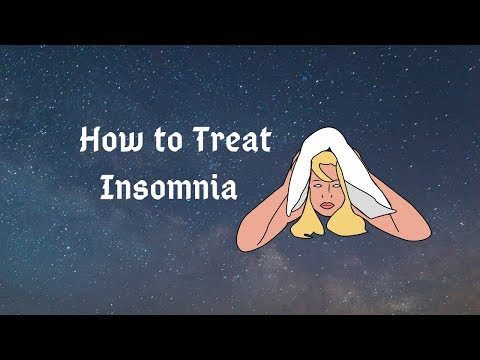 How to treat insomnia / Treatment natural / Remedies