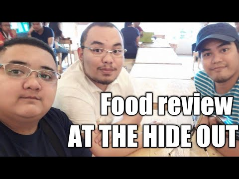 VLOG#26 Food review at The Hide Out Caloocan Branch