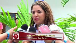 Encuentro Concejales Acora, Alcaldesa San Carlos