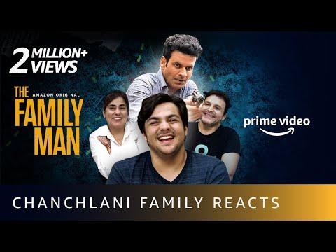 Chanchlani Family Reacts To The Family Man Season 2 Trailer   Amazon Prime Video