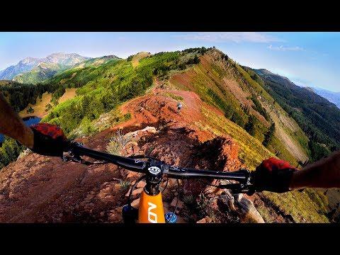 I Wasn't Ready For Red Death | Mountain Biking The Wasatch Crest Near Salt Lake City Utah
