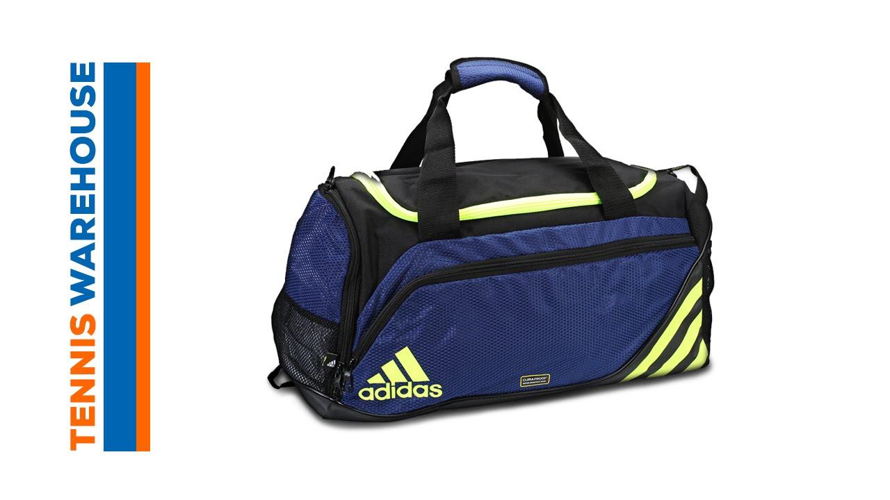 6d736f546232 adidas Team Speed Small Duffel Bag - YouTube