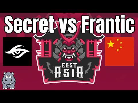ECL Semis | Secret vs Frantic | East Asia 2v2 | Viper+DauT vs Vivi+Tim