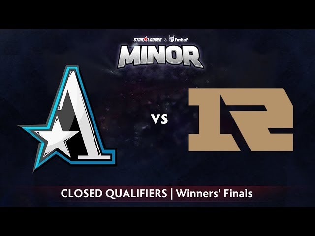 Aster vs Royal Never Give Up Game 1 - StarLadder ImbaTV CN Qualifier: Winners' Finals