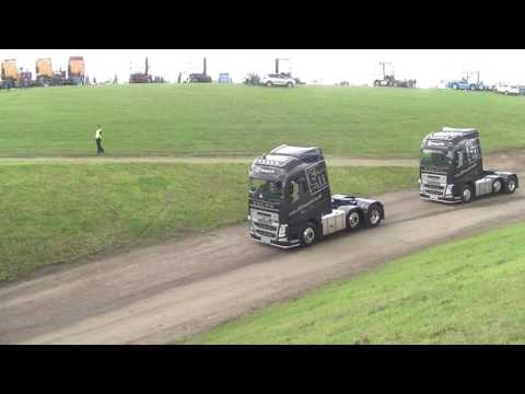 Convoy In The Park plus Truck Racing Highlights - Donington, 23rd July 2017