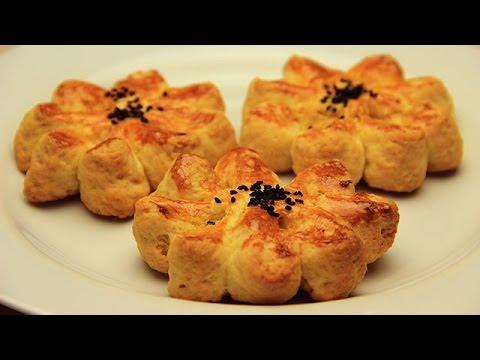Patatesli Çicek Poğaca Tarifi Videosu