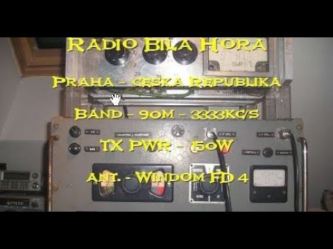 Radio Bila Hora, 3381 kHz (Czech Republic)