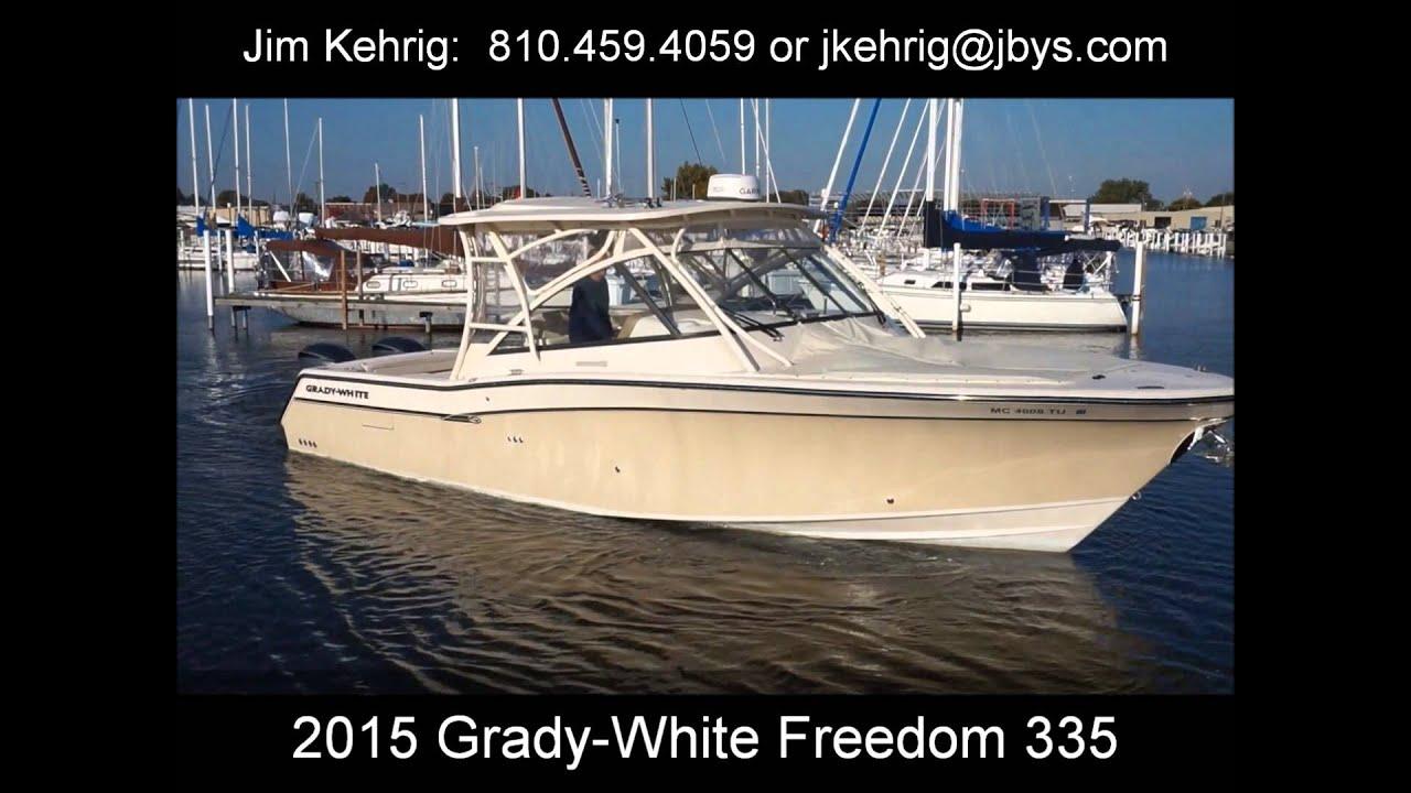 2015 Grady-White Freedom 335 33 Boats for Sale - Jefferson Beach