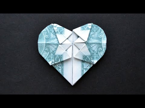 Sweet origami hearts ⇆ bloomize   360x480
