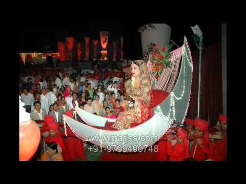 WEDDINGTHEME VARMALA JAIMALA BRIDE ENTRY WEDDING PLANNER 919799490748 wwwmarjsscom  YouTube