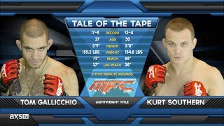 Fight Of The Week: Tom Gallicchio vs. Kurt Southern MFC 39