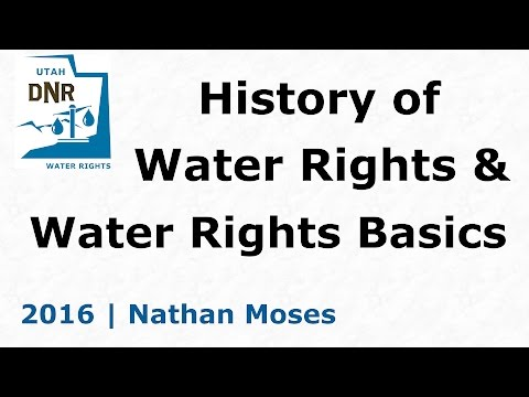 2016.1 - History of Water Rights