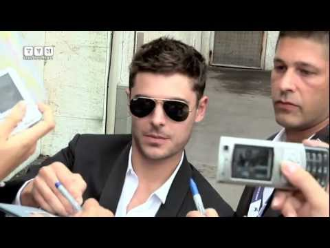 69th Venice Film Festival - The arrival of Zac Efron