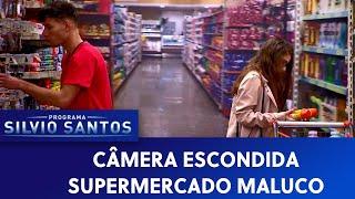 Supermercado maluco Crazy Supermarket Prank Câmeras Escondidas 15 09 19