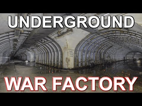 HUGE UNDERGROUND WAR FACTORY - With Upalevel Productions