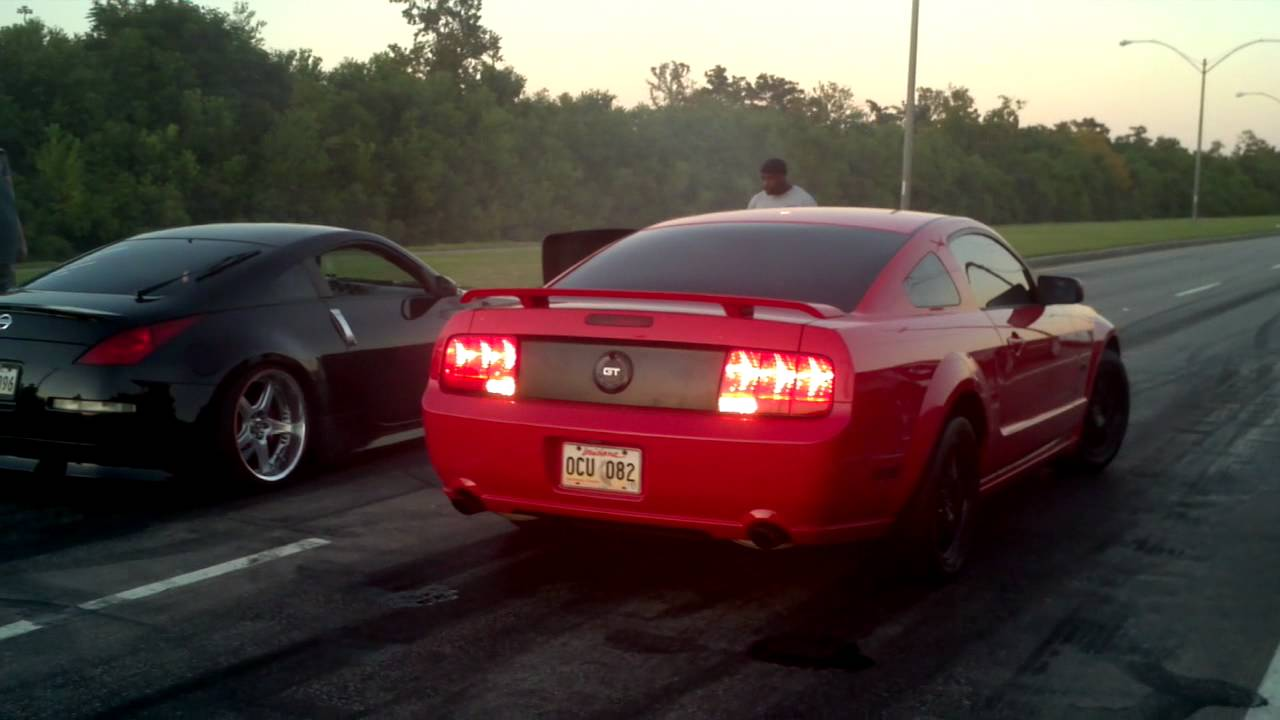 Supercharged 350z Vs Mustang Gt