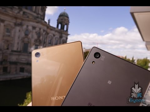 Sony Xperia Z5 Premium - First 4k UHD Display SmartPhone Hands On - iGyaan 4k