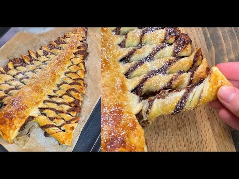 Puff pastry Christmas tree everyone will love this idea
