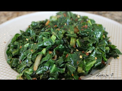How To Cook Collard Greens Quickly | Easy Sauteed Collard Greens | Episode 90