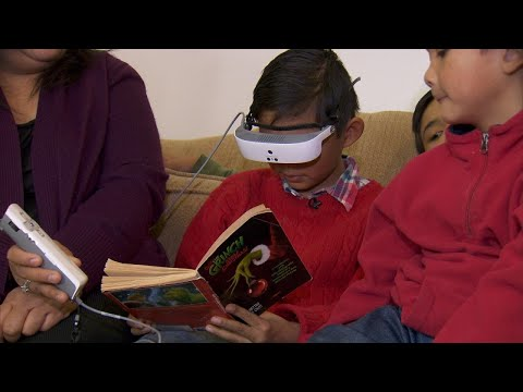 Blind 8-Year-Old Gets Glasses for Christmas to Help Him See