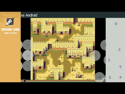 Cara Setting Heroes Lore Di Android   J2ME Loader